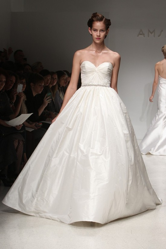 wedding dress fall 2012 bridal gowns amsale 12