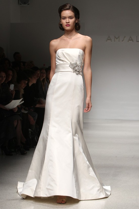 wedding dress fall 2012 bridal gowns amsale 10