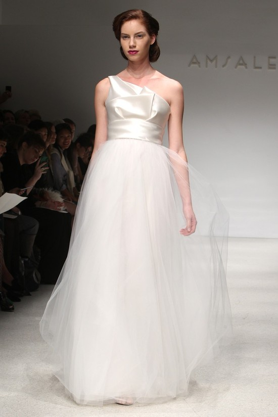 wedding dress fall 2012 bridal gowns amsale 8