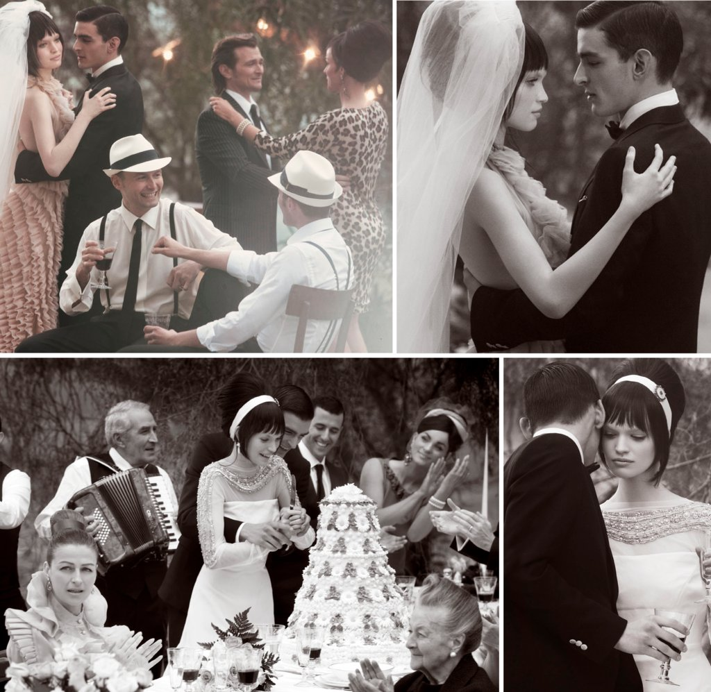 Wedding-in-italy-romantic-outdoor-reception-dancing-black-and-white.full