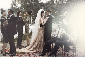 photo of Romantic Outdoor Wedding in Italy