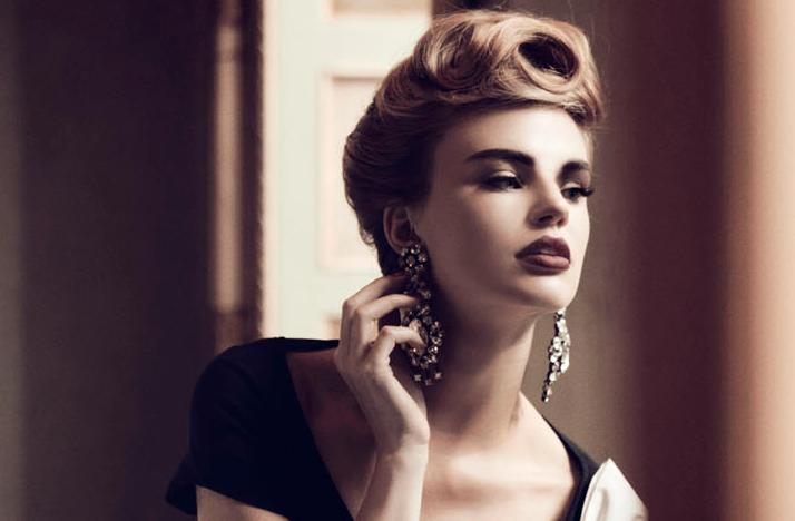 wedding hair makeup inspiration elegant sophisticated ...