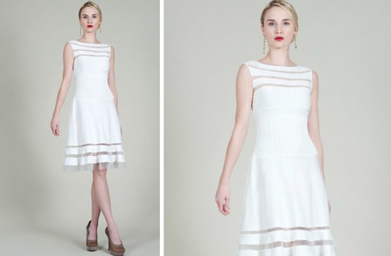 prettiest little white wedding dresses spring 2013 Tadashi Shoji 4