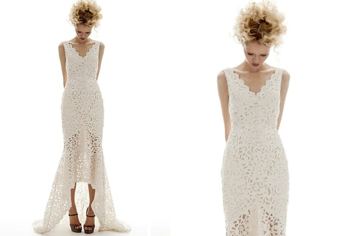 prettiest little white wedding dresses spring 2013 elizabeth fillmore