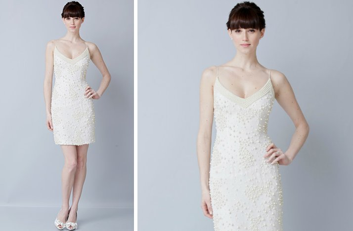 prettiest little white wedding dresses spring 2013 Theia