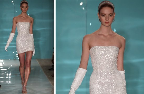 prettiest little white wedding dresses spring 2013 Reem Acra