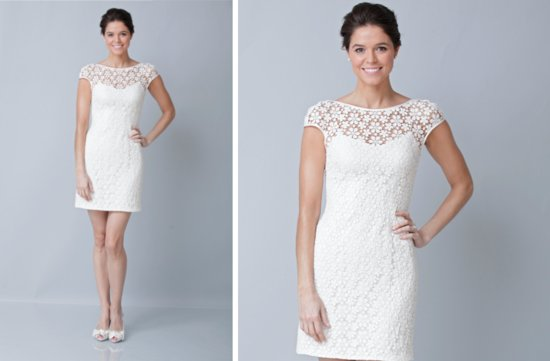 pretties little white wedding dresses spring 2013 Theia