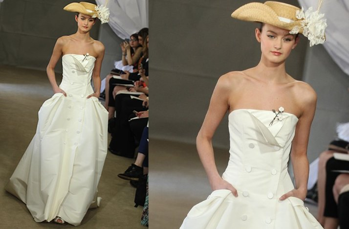 Nautical-wedding-inspiration-carolina-herrera-wedding-dress.full
