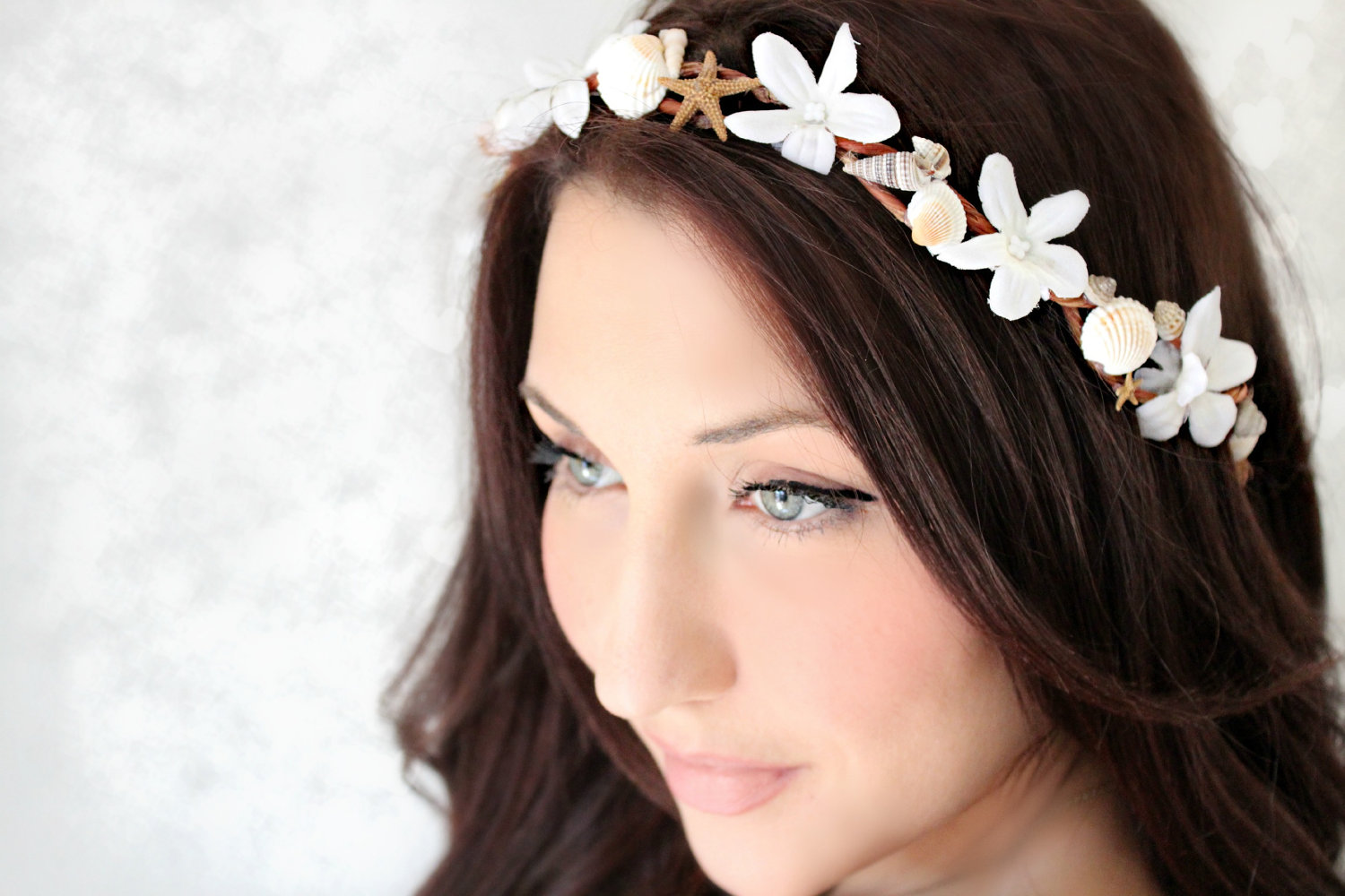 nautical wedding ideas bridal headband wedding hair
