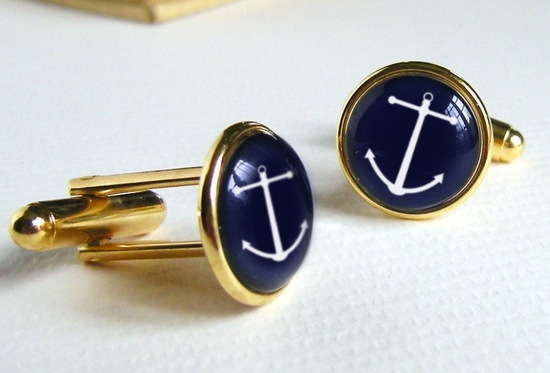 nautical wedding cufflinks