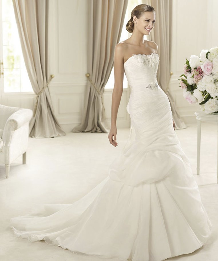 2013 wedding dress Pronovias Glamour collection bridal gowns Durcal copy