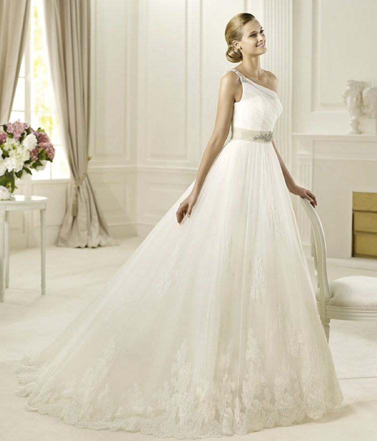2013 wedding dress Pronovias Glamour collection bridal gowns Diosa