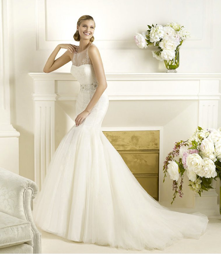 2013 wedding dress Pronovias Glamour collection bridal gowns Ducal