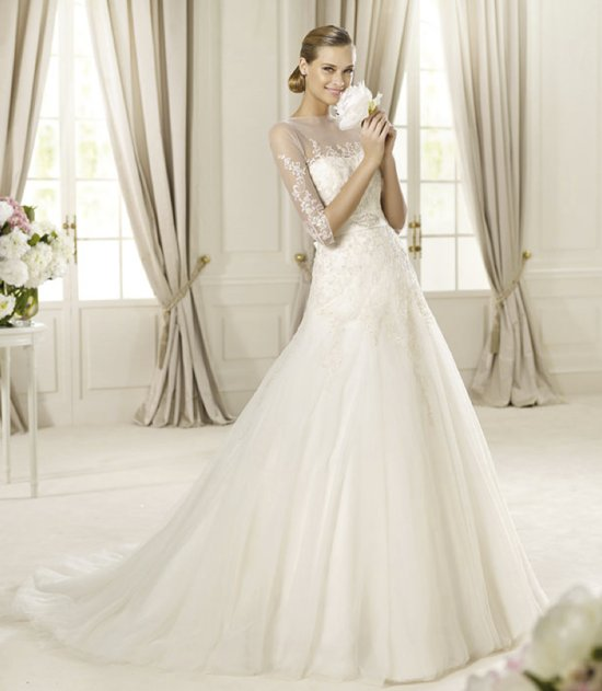 2013 wedding dress Pronovias Glamour collection bridal gowns Duquesa