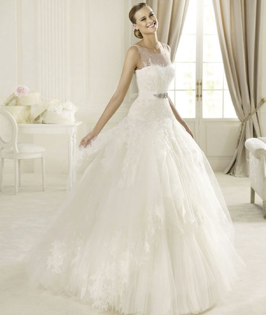 2013 wedding dress Pronovias Glamour collection bridal gowns Dominic