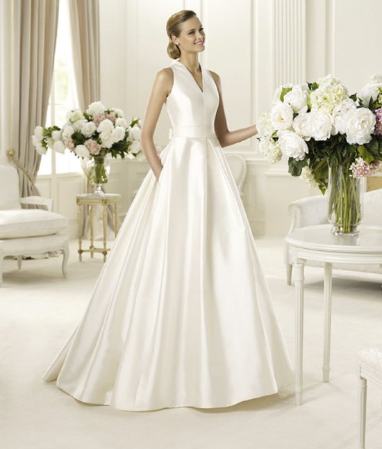 spring 2013 wedding dress manuel mota bridal gowns 4