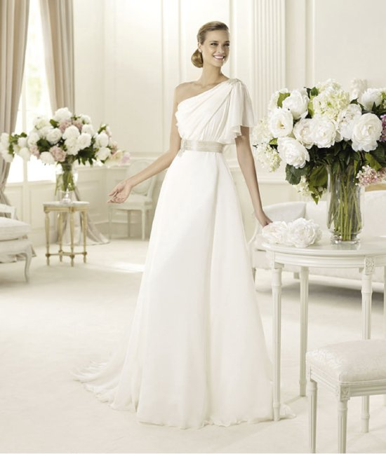spring 2013 wedding dress manuel mota bridal gowns Galero