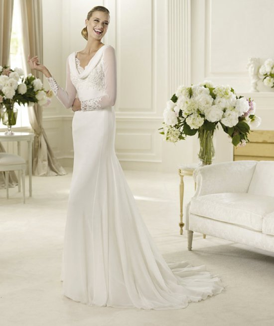 spring 2013 wedding dress manuel mota bridal gowns Ganges