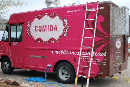 Comida Food Truck Wedding Reception Treats Mexican