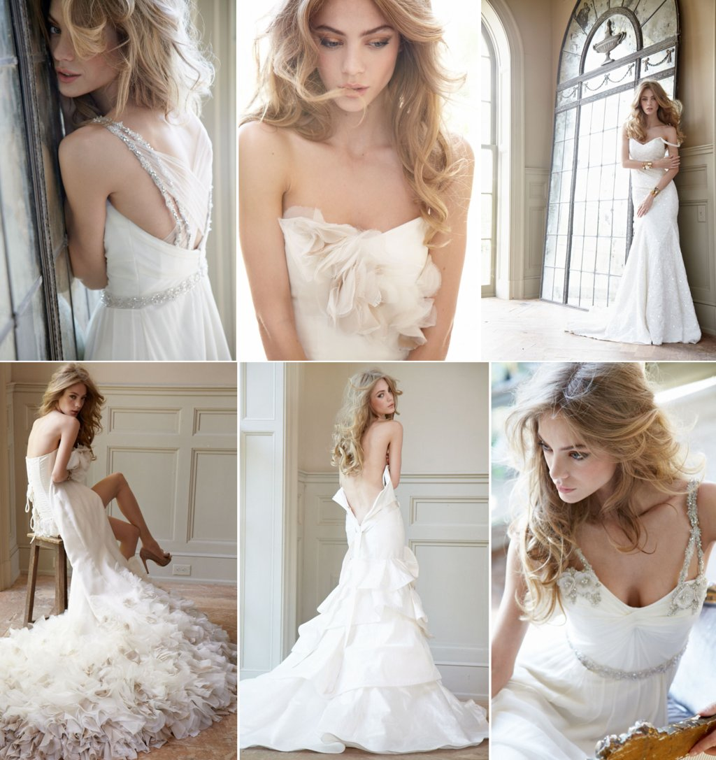 new wedding dresses for 2012 romantic bridal gowns by Hayley Paige