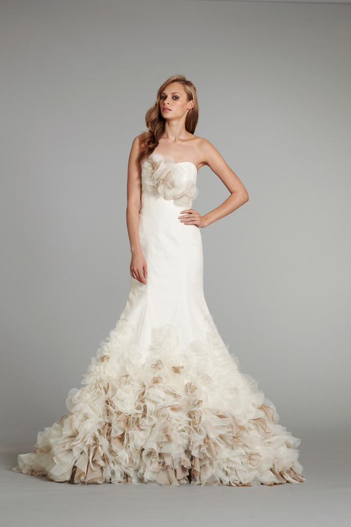 photo of new bridal gowns fall 2012 wedding dress hayley paige for JLM couture Babs