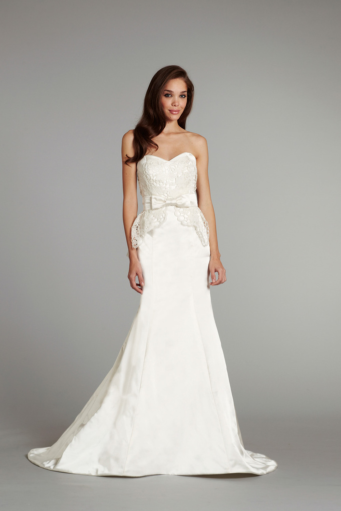 photo of new bridal gowns fall 2012 wedding dress hayley paige for JLM couture Sloane