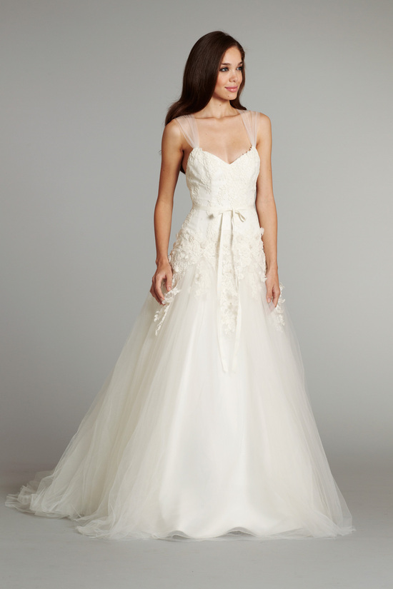 new bridal gowns fall 2012 wedding dress hayley paige for JLM couture Seraphina