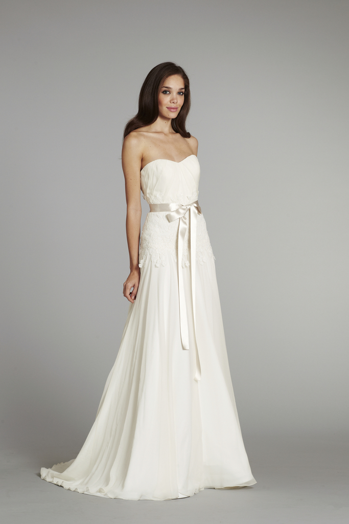 photo of new bridal gowns fall 2012 wedding dress hayley paige for JLM couture Prima