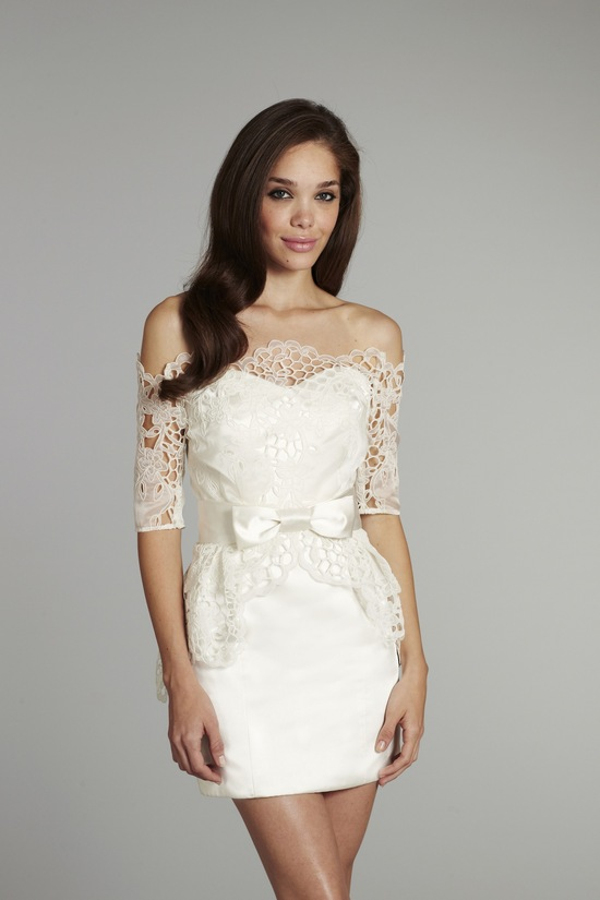 new bridal gowns fall 2012 wedding dress hayley paige for JLM couture Ellie