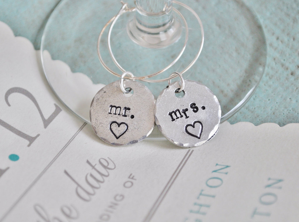Creative-wedding-ideas-from-etsy-mr-and-mrs-decor-silver-wine-charms.full