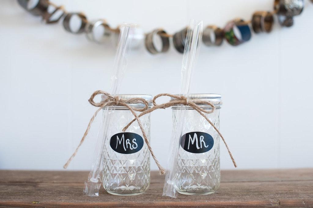 Creative-wedding-ideas-from-etsy-mr-and-mrs-decor-mason-jar-tumblers.full