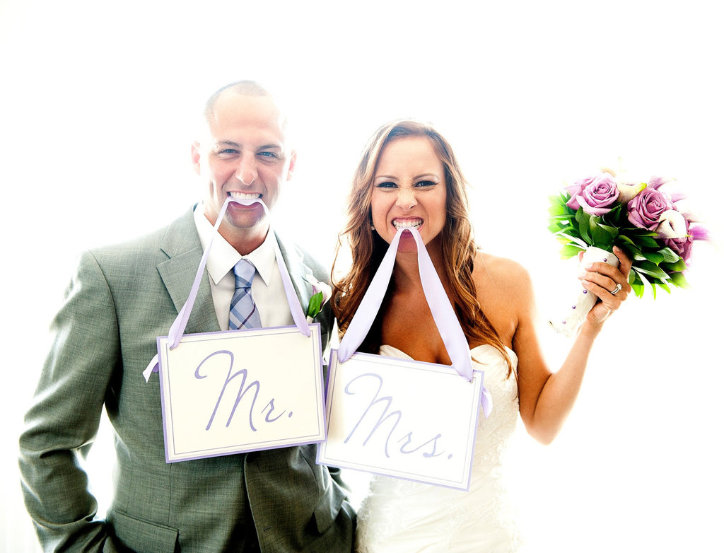 creative wedding ideas from Etsy Mr and Mrs decor diy printable signs