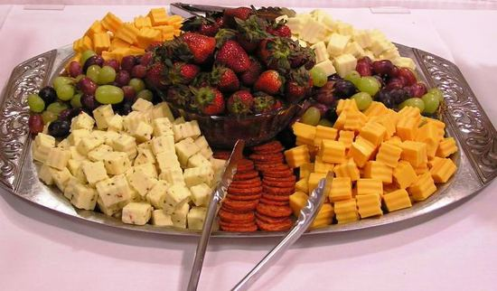 Cheese and Fruit Sampler