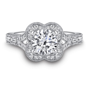 photo of Platinum engagement rings