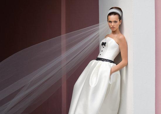 Jackie Kennedy inspired wedding dresses