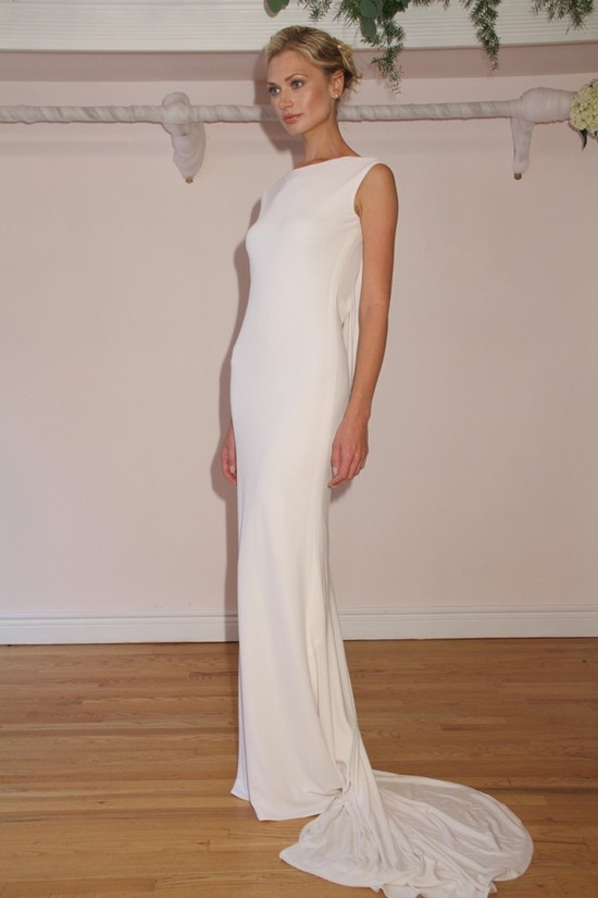 Randi Rahm timeless wedding dresses, Fall 2012, 3