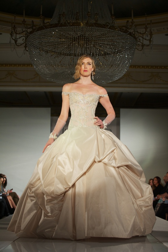 2012 wedding dress trends- non-white wedding dresses