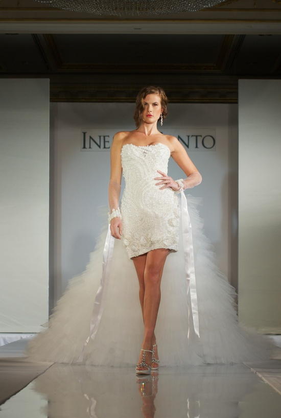 2012 wedding dress trends- little white dress