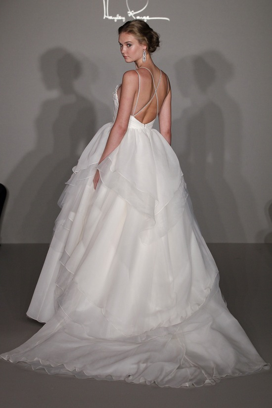 photo of Hayley Paige wedding dress, style 6200