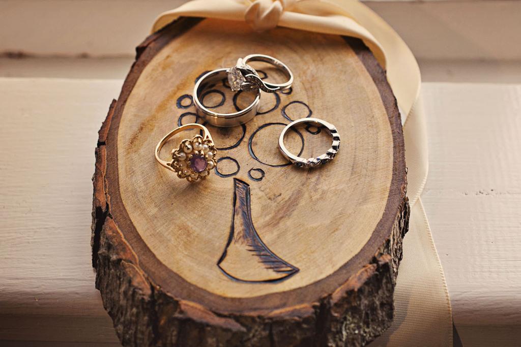 Real weddings Austin TX artistic engagement ring shot statement bridal bo