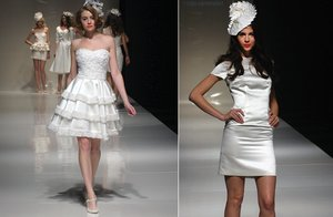 photo of White Hot Wedding Reception Dresses