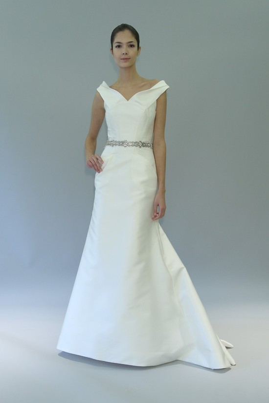 carolina herrera wedding dress fall 2012 bridal gowns 5