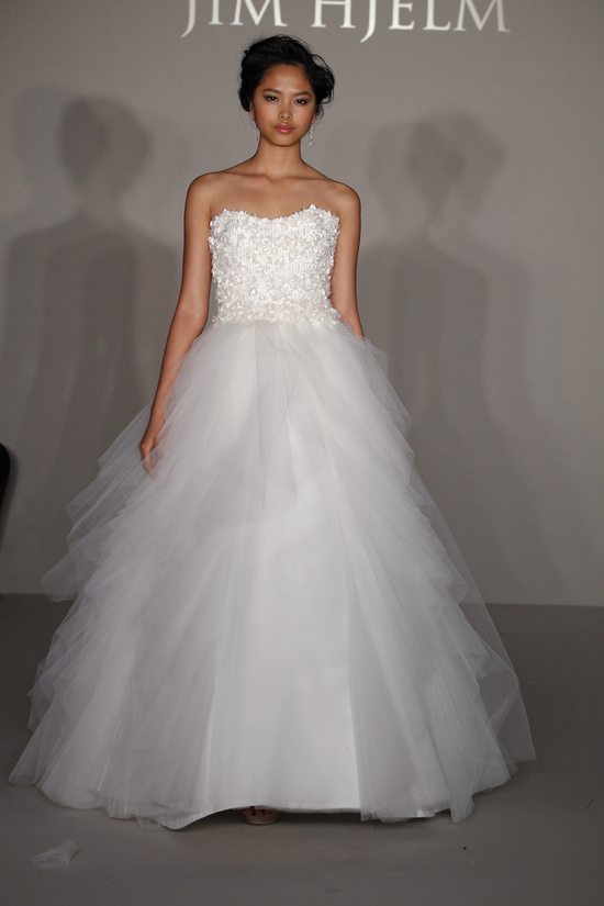 photo of Jim Hjelm Bridal Gowns Spring 2012