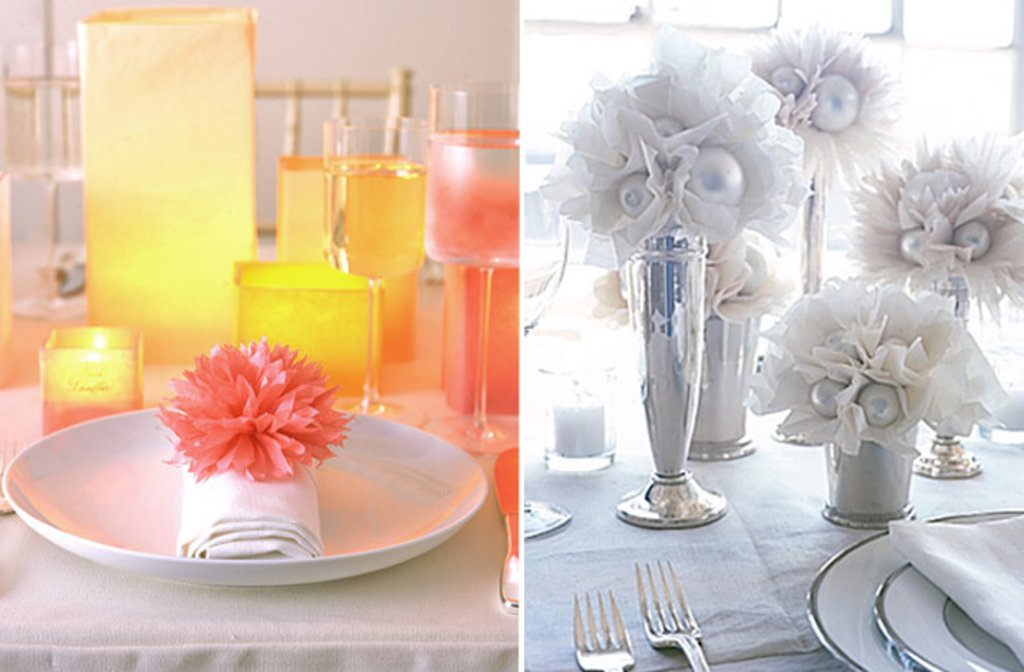 Wedding Table Decoration Ideas On A Budget - Wedding Invitation Sample