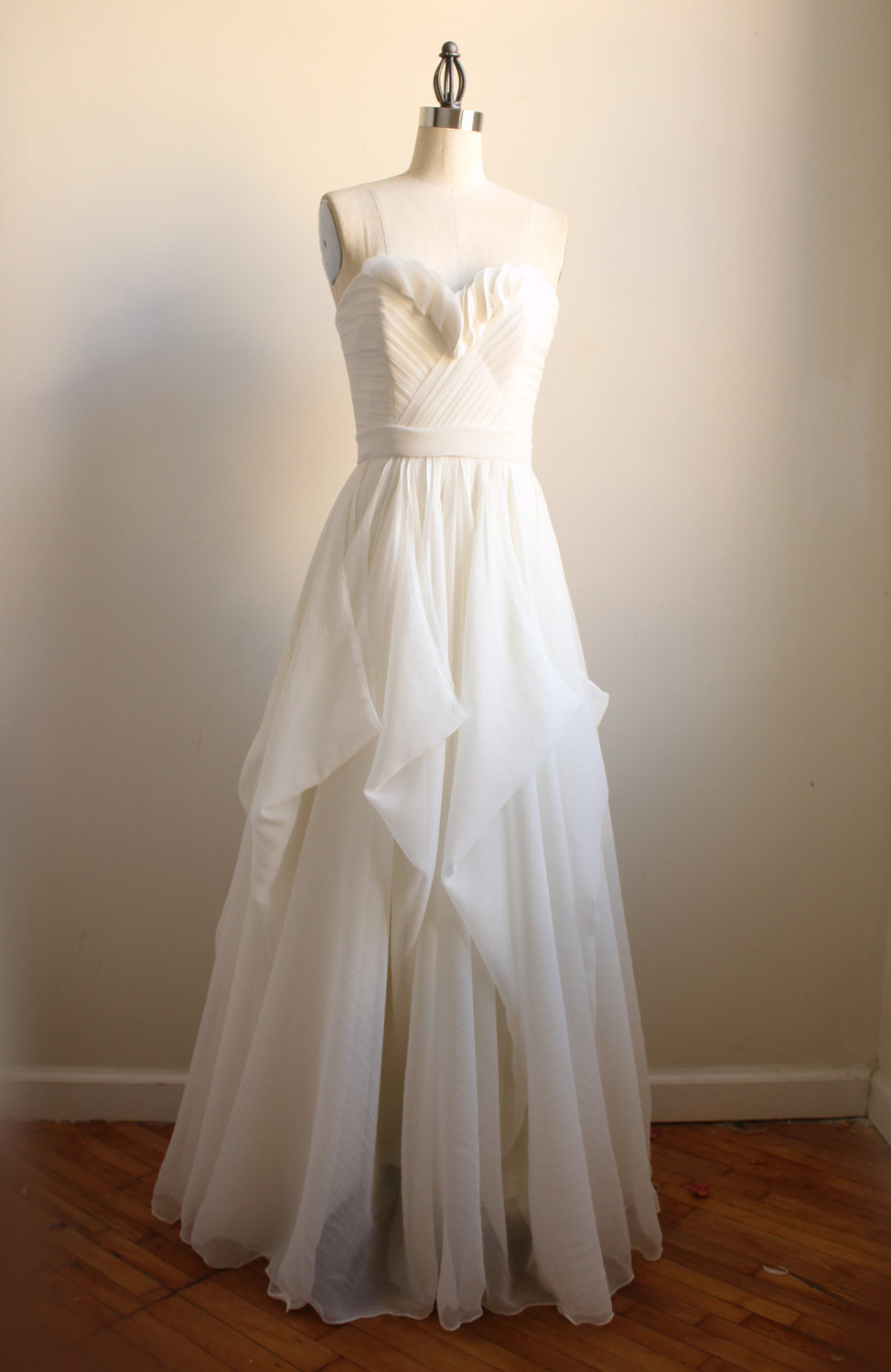 Handmade wedding dresses etsy bridal gown julietta for Wedding dress on etsy