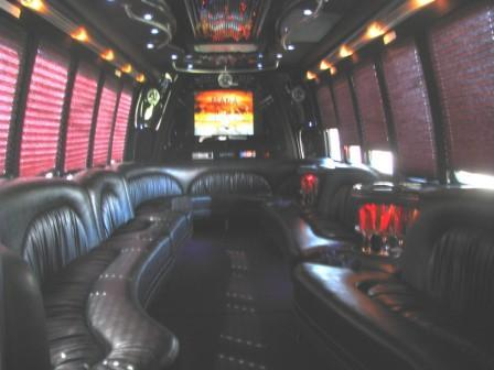 Limo Bus Interior 1