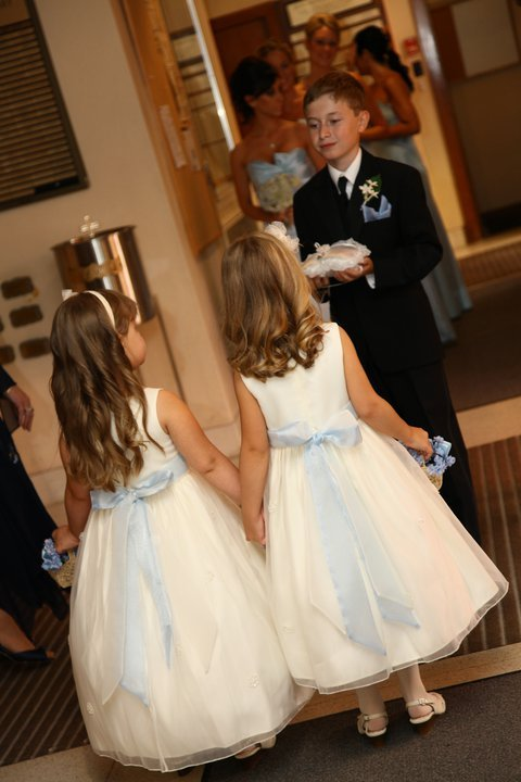 flower girls ring bearer