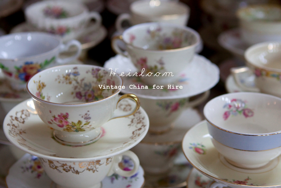 photo of Heirloom Vintage China Hire
