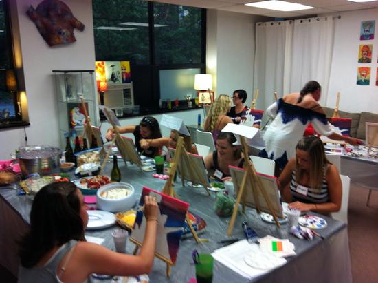 photo of Art Plus Studio - BYOB Painting Parties