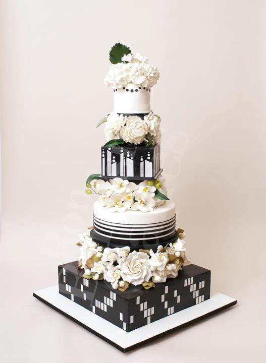 photo of wedding-cake-inspiration-Ron-Ben-Isreal-Cakes-7
